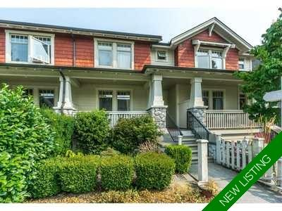 Fort Langley Townhouse for sale: 4 bedroom 2,115 sq.ft.