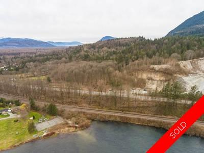 Lake Errock Acreage for sale:
